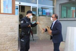 IMG 1153 300x200 İlçe Emniyet Müdürü Metin Cengiz'e, Polis Haftası Ziyareti!
