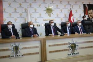 IMG 1317 300x200 AK Parti Grup Başkanvekili Mahir Ünal, Afşinde Ziyarette Bulundu!