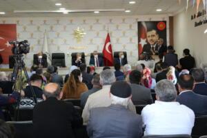 IMG 1367 300x200 AK Parti Grup Başkanvekili Mahir Ünal, Afşinde Ziyarette Bulundu!