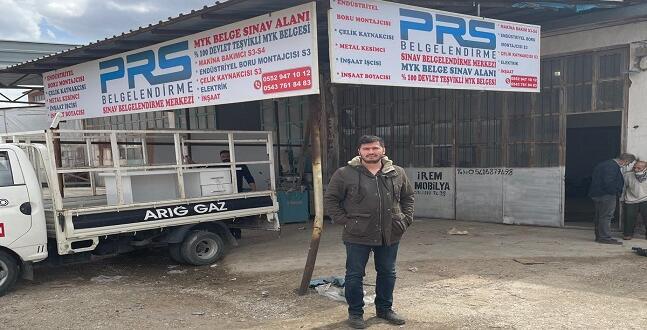 Bu fırsat kaçmaz! Afşin'de ücretsiz sınav ile MYK belgesi