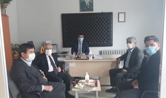 Yeni Atanan PTT Müdürüne, Başkan Safi'den Ziyaret!