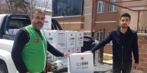 Elbistan İHH Temsilcileri, 200 Aileye Ramazan Kumanyasını Ulaştırdı!