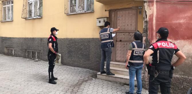 Kahramanmaraş'ta kesinleşmiş hapis cezası olan 53 kişiyi yakalandı