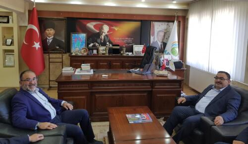 Mahalli İdareler Başkan Yardımcısı Böke, Başkan Güven'i Ziyaret Etti!