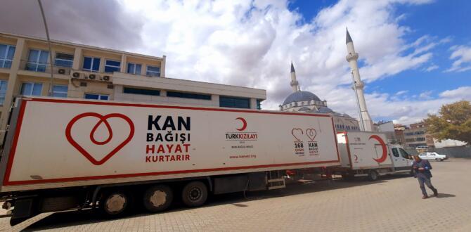 Türk Kızılayı Kan Bağışı İçin Sizleri Bekliyor!