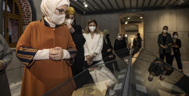 Afşin'de bulunan yüz yıllık kitaplar, İstanbul'da sergilendi!