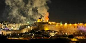 İsrail, Mescid-i Aksa'daki Cemaate Saldırdı!