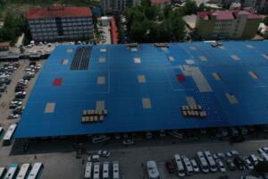 baskan2 300x200 Elbistanda, 1 Milyon TL gelir elde edilecek GES projesi kurulumuna başlandı