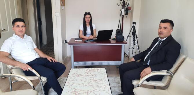 PTT Müdürü Kırbıyık'tan, Efsus Haber'e Ziyaret!
