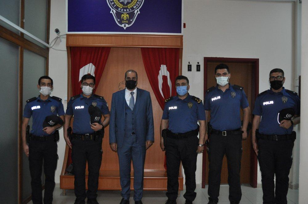 DSC 0317 3 Cebeloğlundan , Afşin İlçe Emniyet Müdürlüğüne Ziyaret!