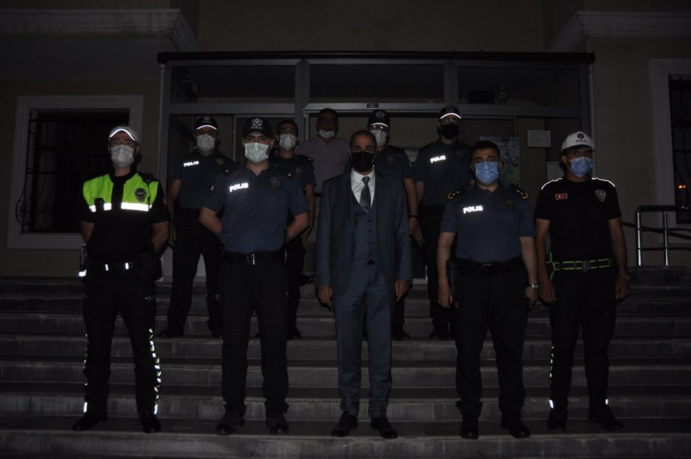 DSC 0321 4 Cebeloğlundan , Afşin İlçe Emniyet Müdürlüğüne Ziyaret!