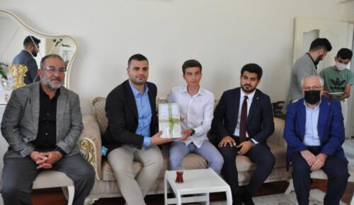 AK Parti Gençlik Kolları Genel Başkanı İnan'dan Afşin'e Ziyaret