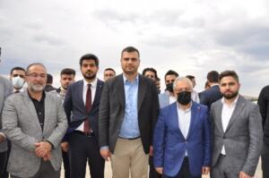 DSC 0334 1 300x199 AK Parti Gençlik Kolları Genel Başkanı İnan'dan Afşin'e Ziyaret