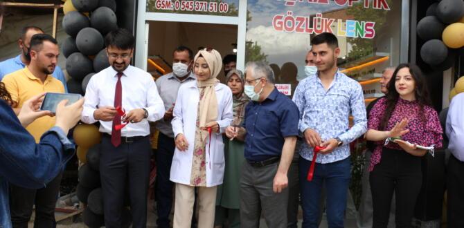 Büşra Optik Düzenlenen Törenle Açıldı!
