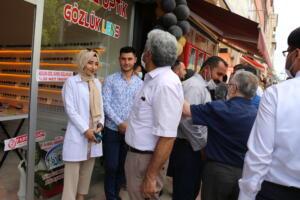 IMG 2450 300x200 Büşra Optik Düzenlenen Törenle Açıldı!