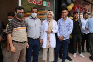 IMG 2453 300x200 Büşra Optik Düzenlenen Törenle Açıldı!
