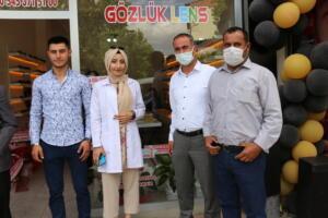 IMG 2456 300x200 Büşra Optik Düzenlenen Törenle Açıldı!