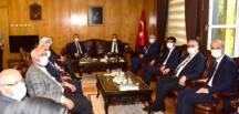 TBMM Grup Başkanvekili Sayın Mahir Ünal'dan Vali Coşkun'a Ziyaret