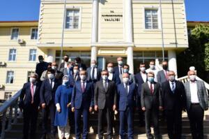 VBS 4665 300x199 TBMM Grup Başkanvekili Sayın Mahir Ünal'dan Vali Coşkun'a Ziyaret