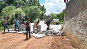 %name Afşin'de Mahalle Yolları İyileştiriliyor