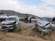 Afşin-Elbistan karayolunda trafik kazası