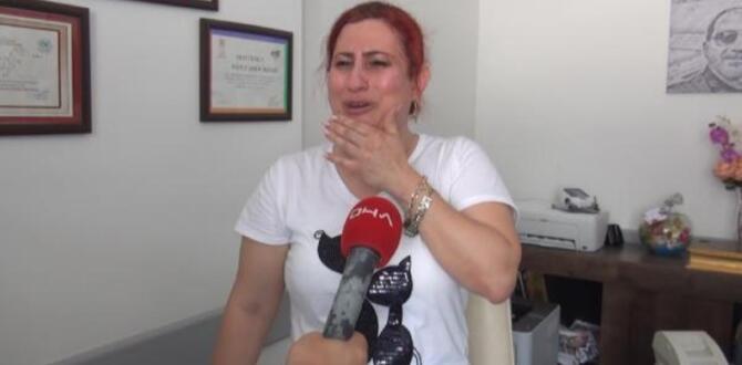 Aşı sırasında saldırıya uğrayan doktor gözyaşlarını tutamadı
