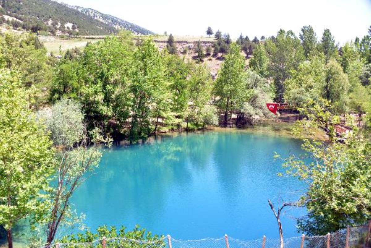 Kahramanmaraş ın gizemli cenneti Yeşilgöz e yoğun ilgi