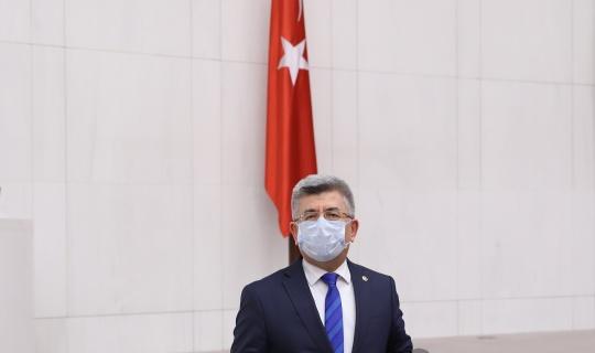 MHP li Aycan, müsilaj nedeninin denizin kirletilmesi olduğunu söyledi