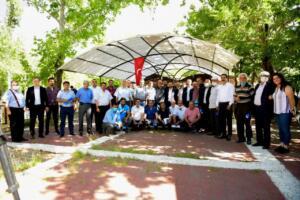 mhtar4 300x200 Elbistanda, 93 Mahalle Muhtarıyla İstişare Toplantısı Yapıldı!