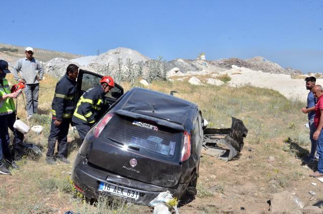 otomobilini micira kaptiran ogretmen olumden dondu 1 Elbistanda, Otomobilini mıcıra kaptıran öğretmen ölümden döndü