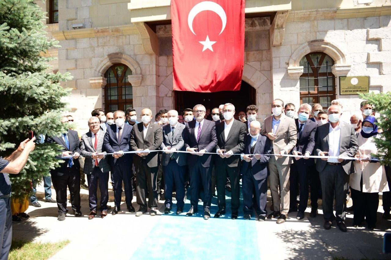 rez 1624245411 Elbistan Şehir Müzesi Açıldı!