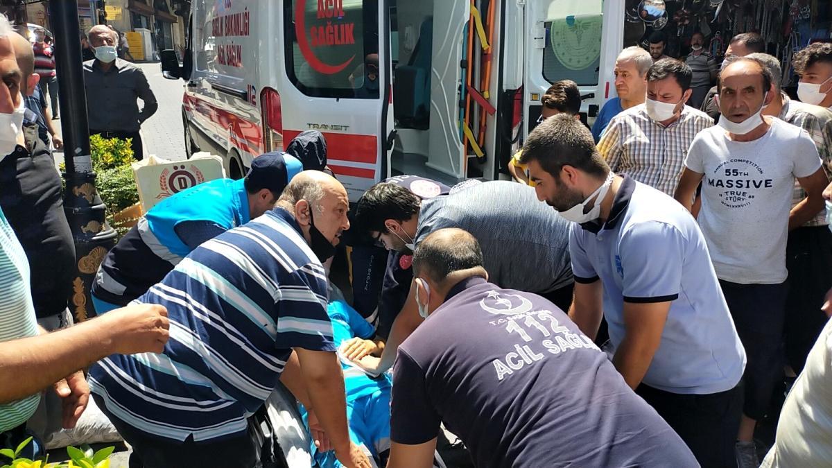 Son dakika haber: Temizlik görevlisini bıçaklayan saldırganı trafik polisi yakaladı