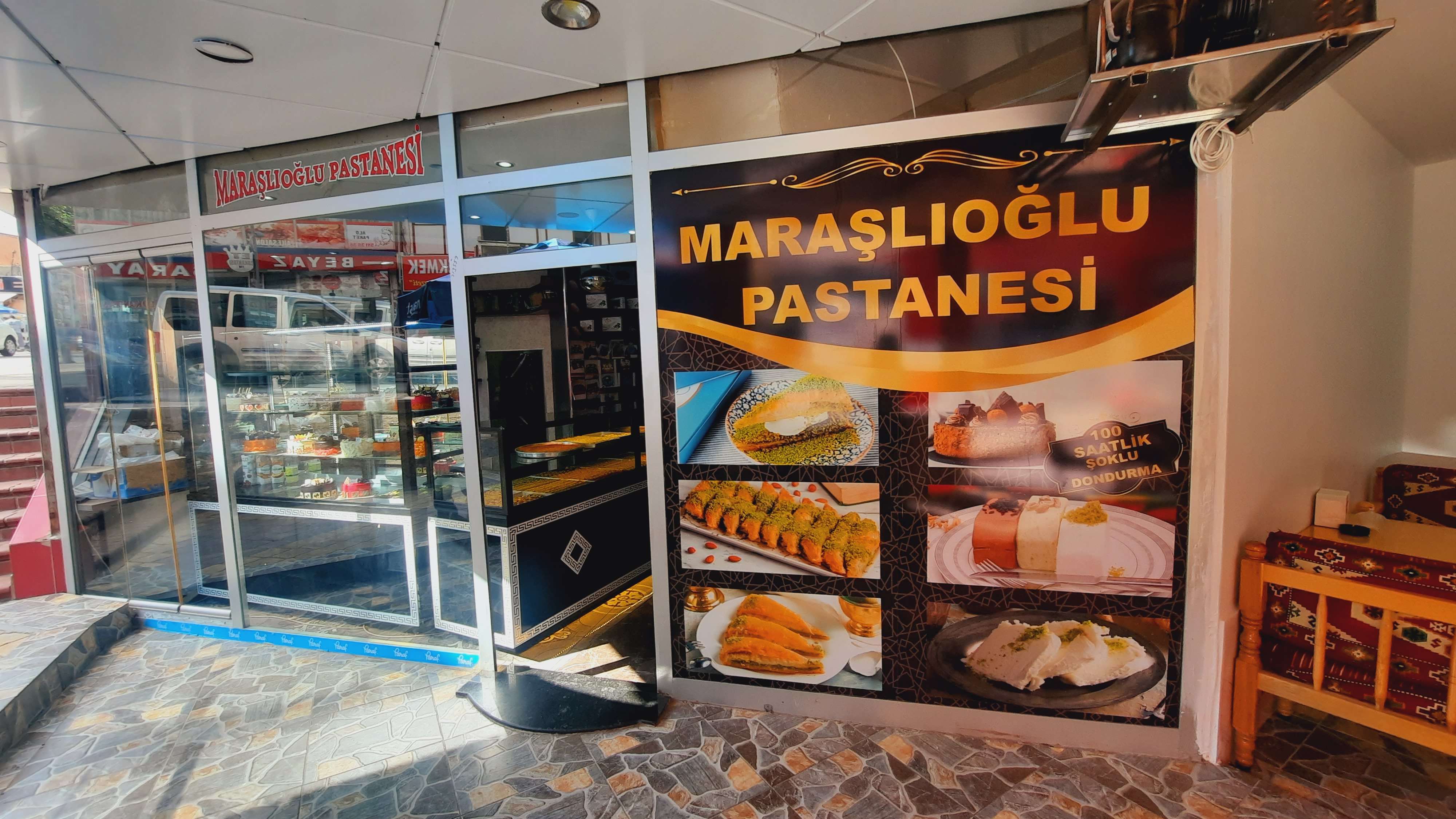 20210705 160755 Maraşlıoğlu Pastanesi, Yenilenen Yüzüyle Hizmetinizde!