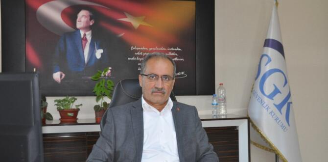Afşin SGK Müdürü Akbaba'dan, yapılandırma ile ilgili duyuru!