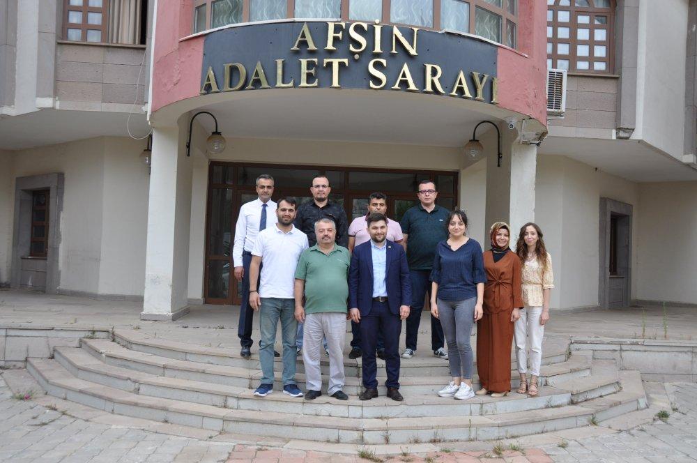 DSC 0327 2 Afşin Barosuna, Avukat Oğuzhan Erüstün seçildi!