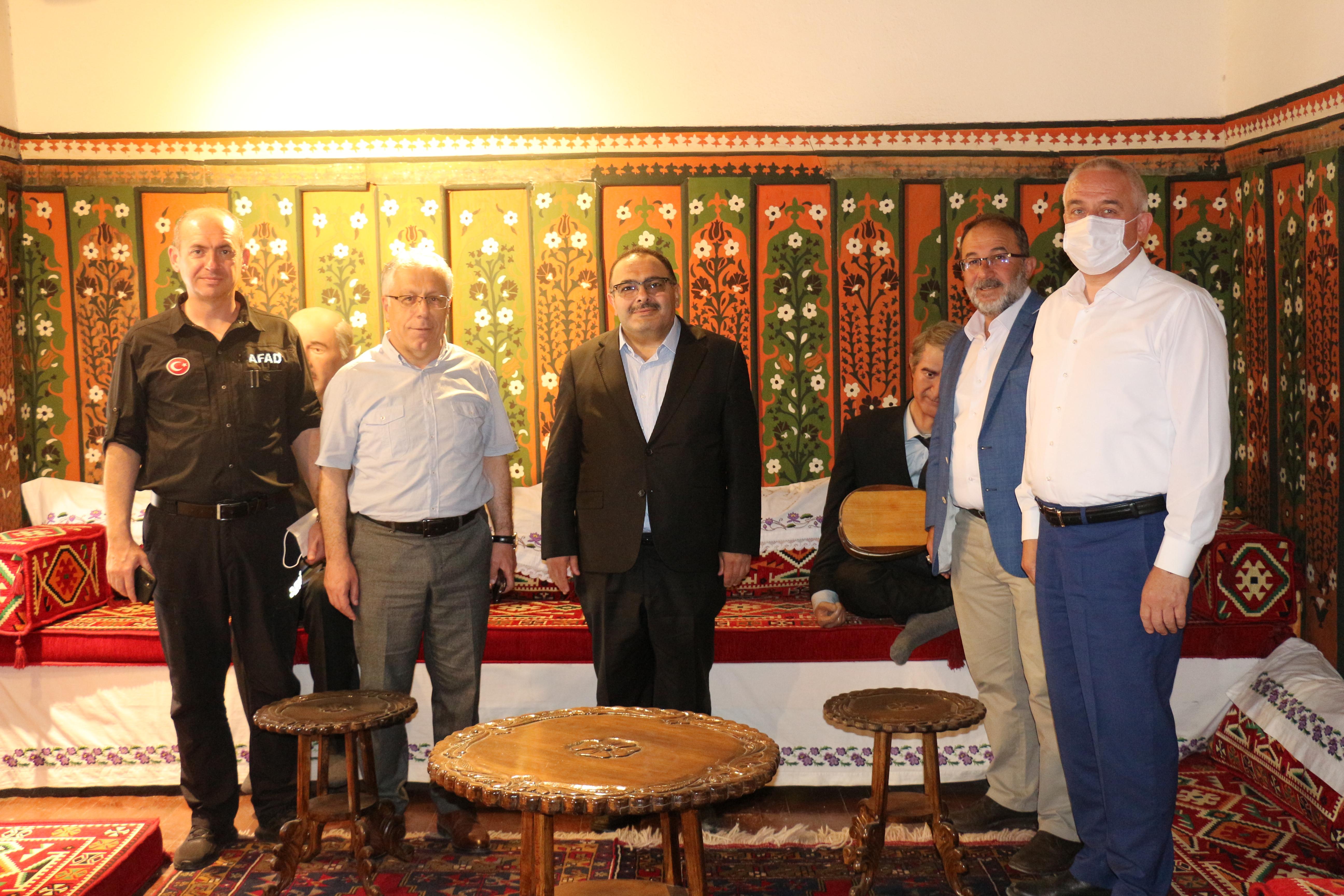 IMG 2990 AK Parti Yerel Yönetimler Başkan Yardımcısı Böke, Afşinde!