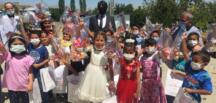 Afşin'de, Öğrenciler Karne Sevinci Yaşadı!