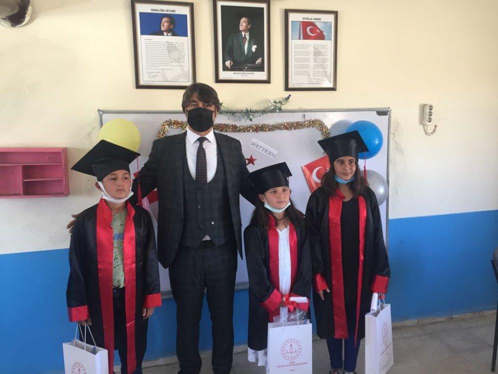 %name Afşinde, Öğrenciler Karne Sevinci Yaşadı!