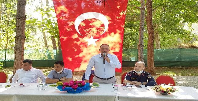 Afşin'de Resmi Bayramlaşma Töreni Yapıldı.