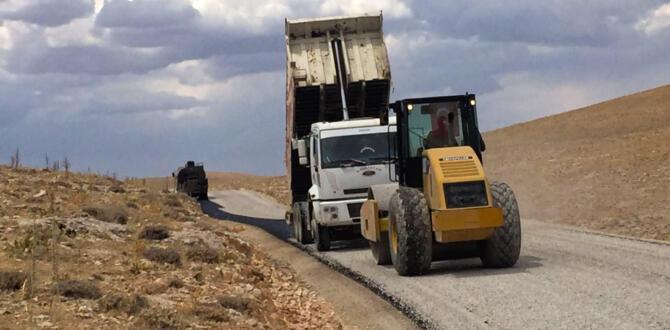 Afşin ve Elbistan'da Yollar Büyükşehir'le Yenileniyor