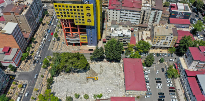 Şehir Meydan Projesi'nde Geri Sayım Başladı