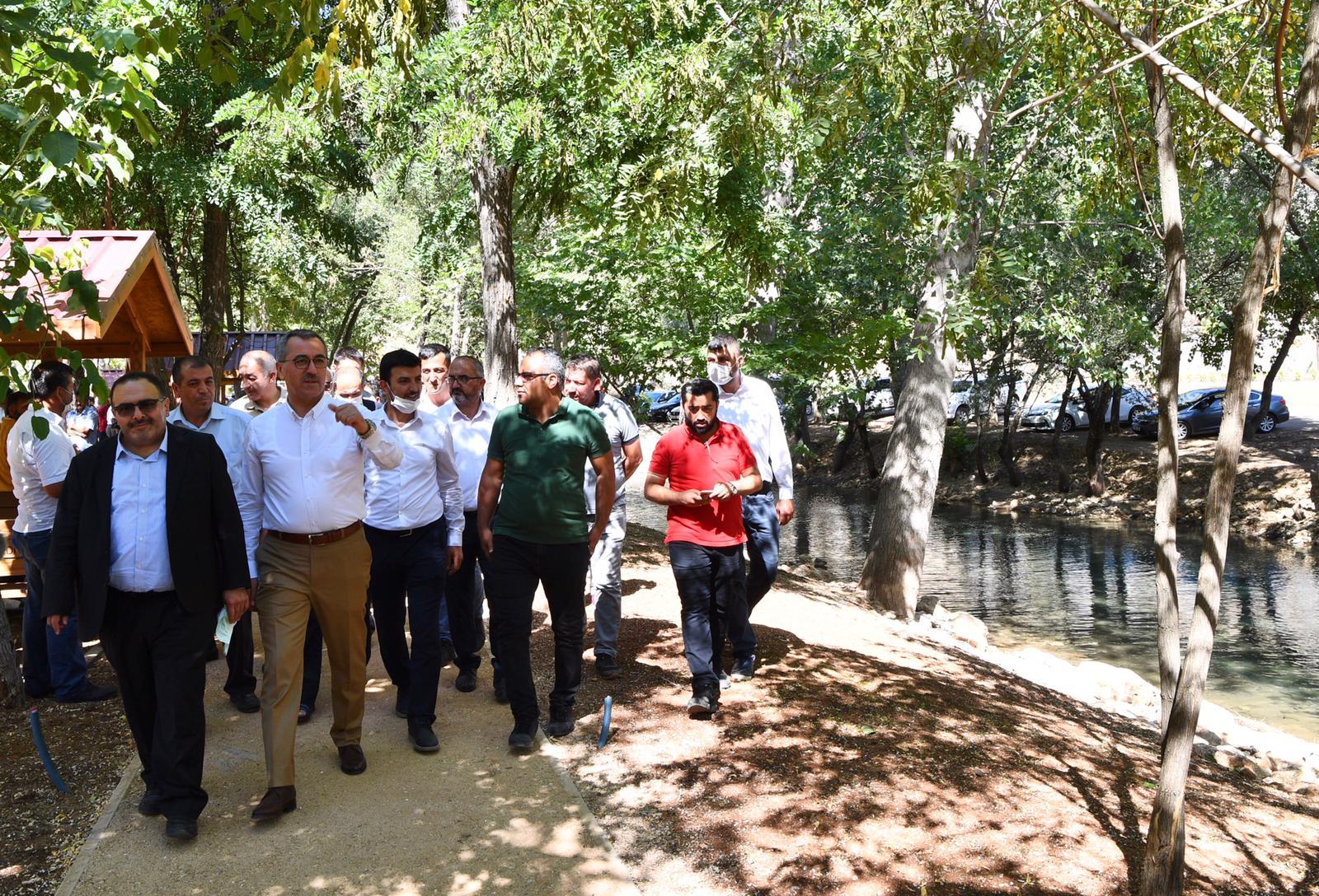 %name Yeşilgöz'de Çalışmalar Tamamlanıyor