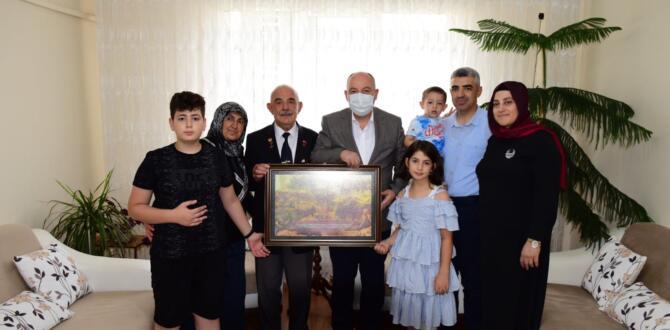 Vali Coşku'dan Şehit ve Gazi Ailelerine Ziyaret.