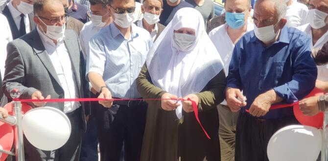 Arıtaş Şehit Bayram Çiçek Millet Konağı Açıldı