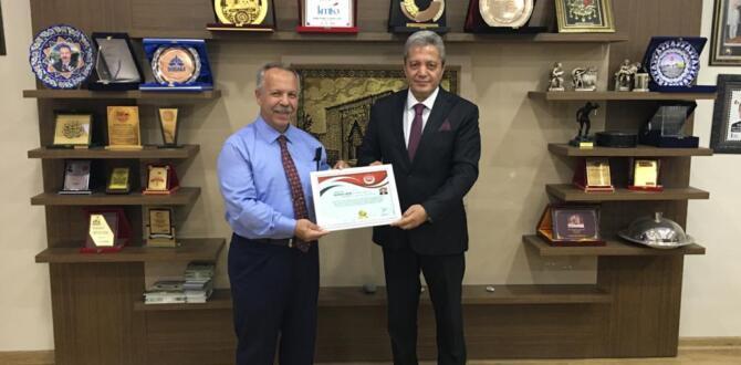 TUTAP'tan Başkan Can'a Turizm Elçisi Beratı