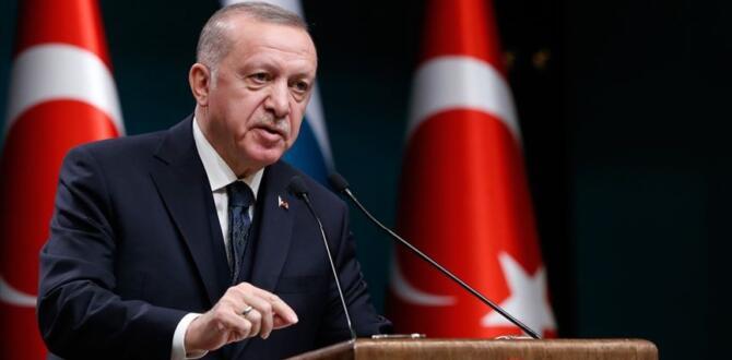 Erdoğan'dan Kabine Toplantısı Sonrası Açıklama!