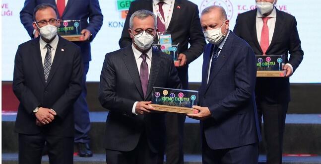 Kahramanmaraş Büyükşehir Belediyesin'e Ödül!