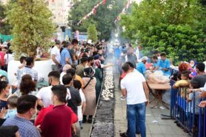 241459257 3947308405375825 8349716888047425342 n 300x200 Kahramanmaraşta Balık Festivali Düzenlendi!