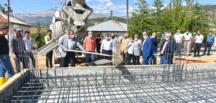 Mahmutbey Camisi'nin Temeli Törenle Atıldı