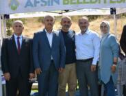 Afşin, Kayseri'de yoğun ilgi gördü!